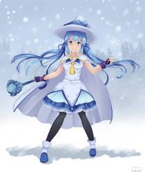 Snow Princess Miku by D-Faction