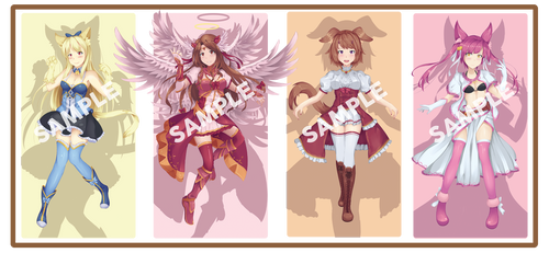 [2/4 OPEN] Fantasy Adoptables by D-Faction