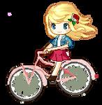 New OC Riding A bike