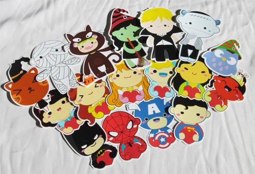 Die Cut Stickers by Papacan