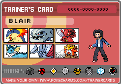 Pokemon Trainer Card Crystal by Tycoondasher