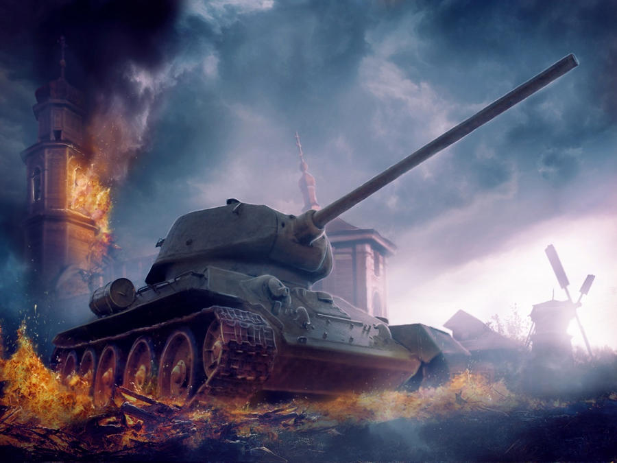 T-34 by DanilaKomlev