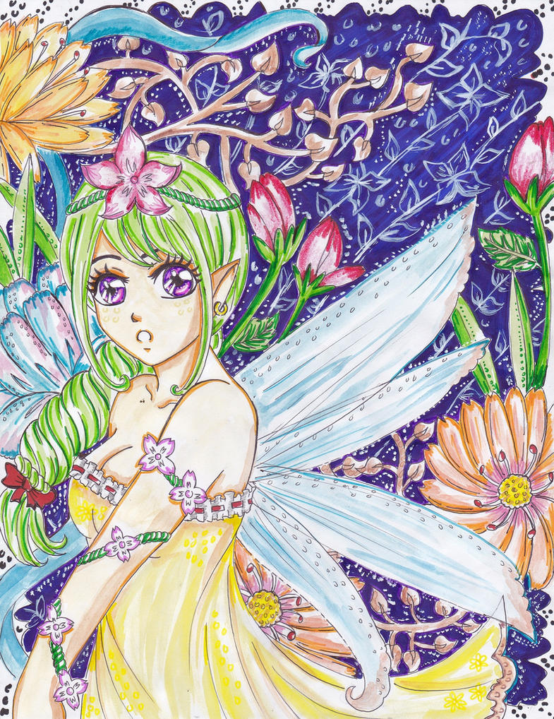 ++my fairy_asneline++ by ladybluematrix