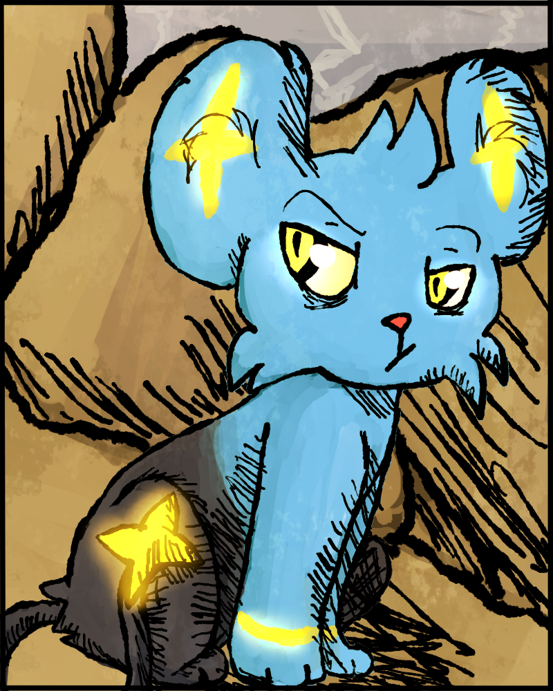 Shinx Painting by GreeneFlygon