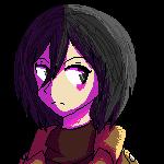 Mikasa Pixel by GreeneFlygon