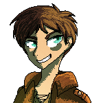 Eren Pixel by GreeneFlygon