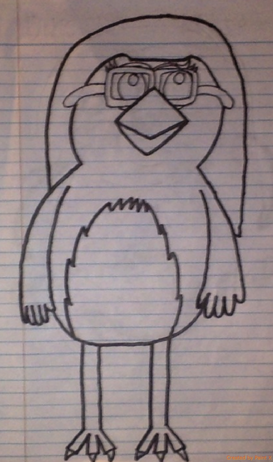 Bird Me with Wings and feet Drawing by Mario1998