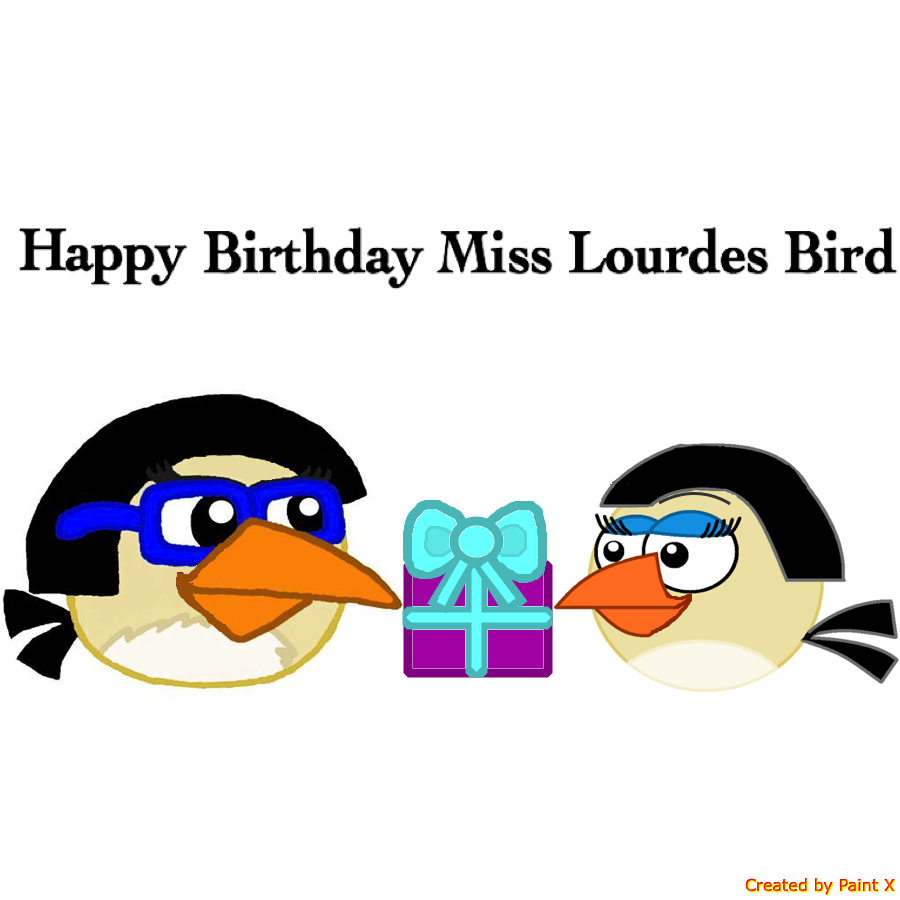 Happy Birthday Miss Lourdes Bird by Mario1998