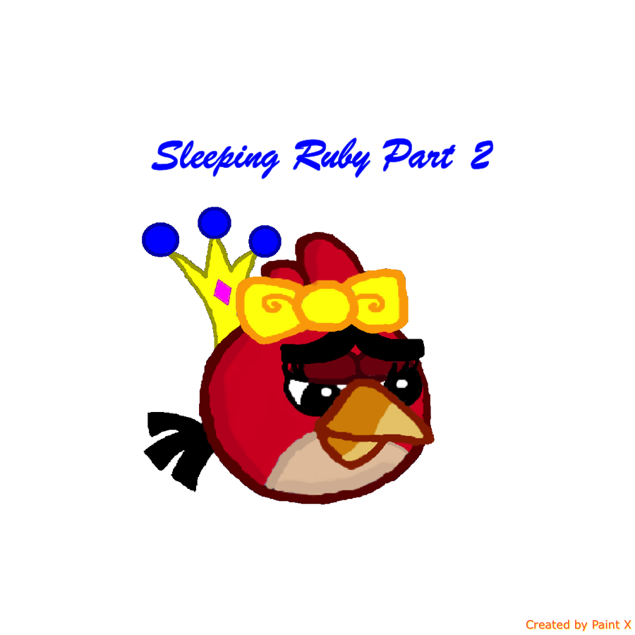RBT S4 Ep. 3 Part 2 Sleeping Ruby Title Card by Mario1998