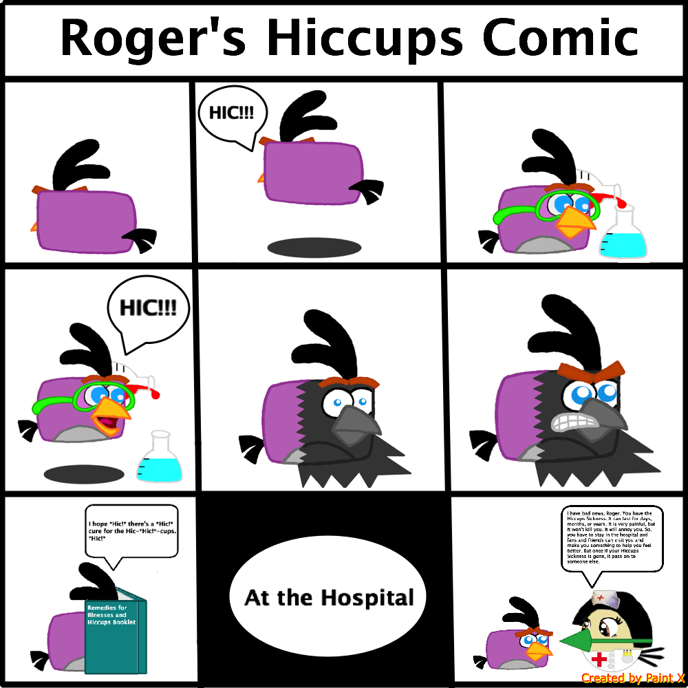 Roger's Hiccups Comic by Mario1998
