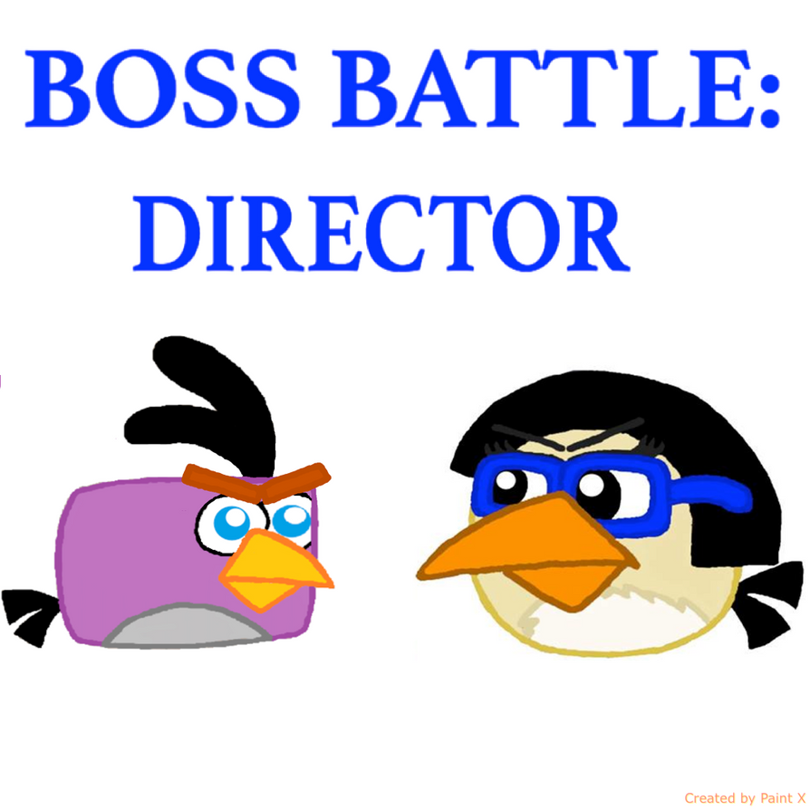 Boss Battle: Director by Mario1998