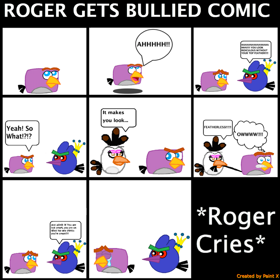Roger Gets Bullied Comic by Mario1998