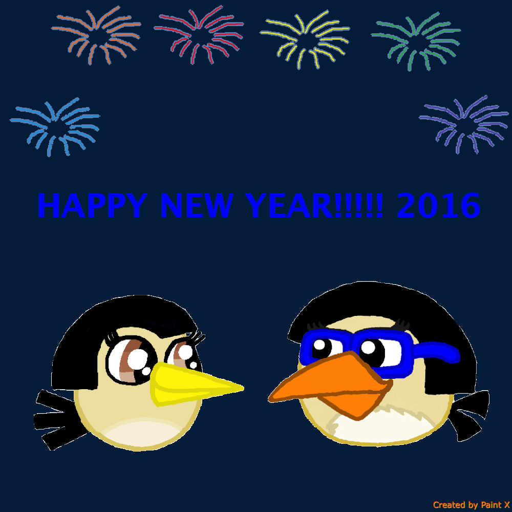 Happy New Year!!!! 2016 by Mario1998