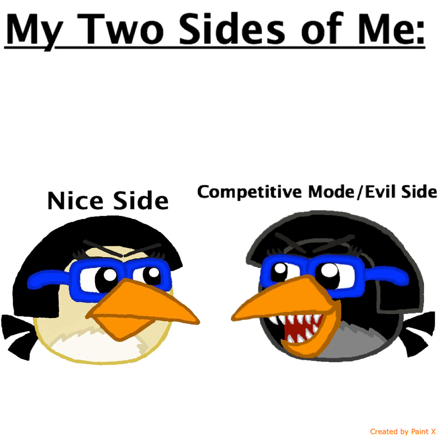 The two sides of me by Mario1998