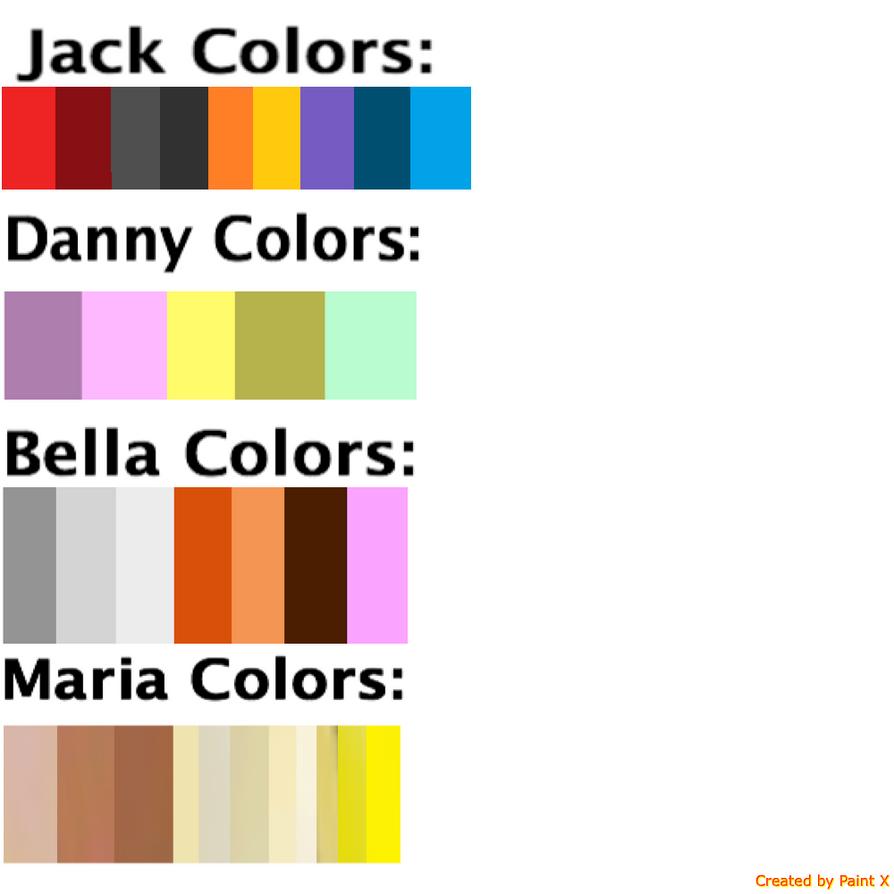 Rage Birds Colors by Mario1998