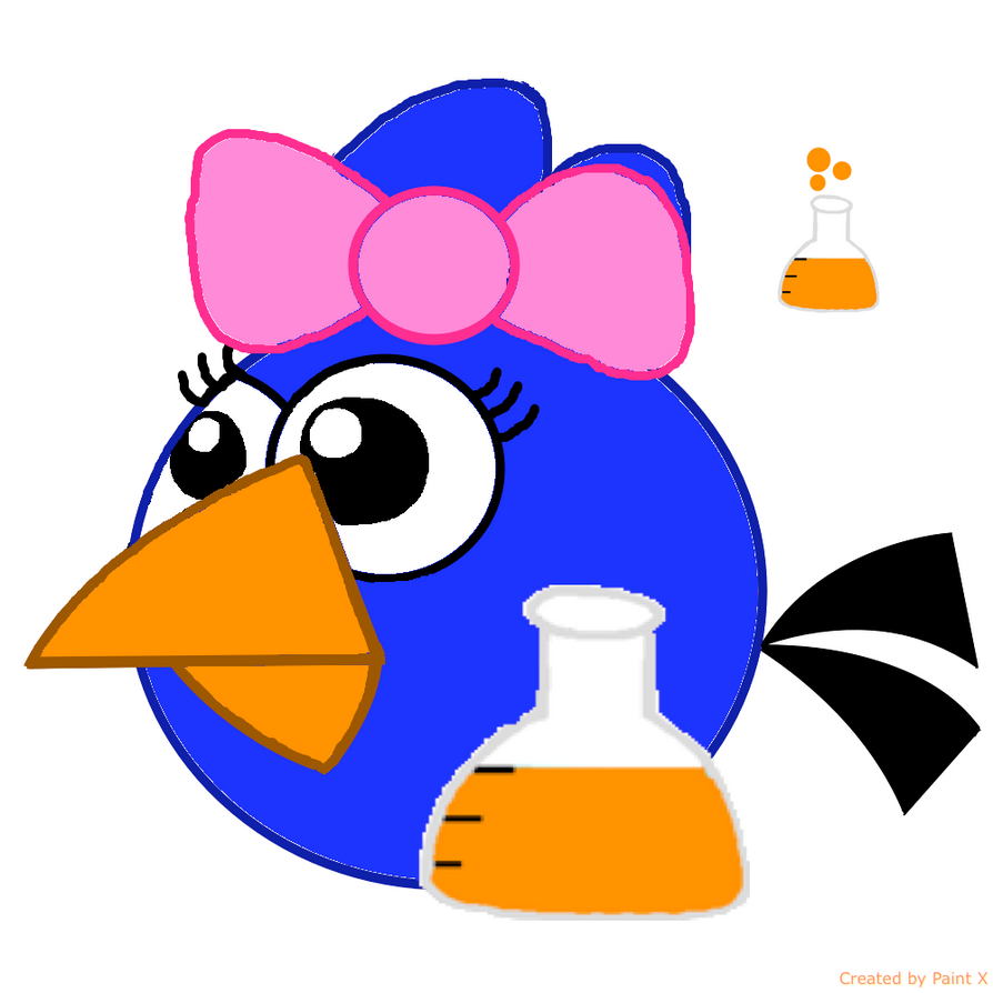 My Scientist Female Bird to make Roger envious by Mario1998