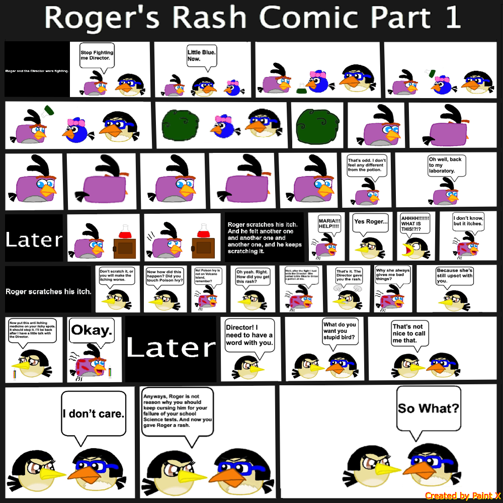 Roger's Rash Comic Part 1 by Mario1998
