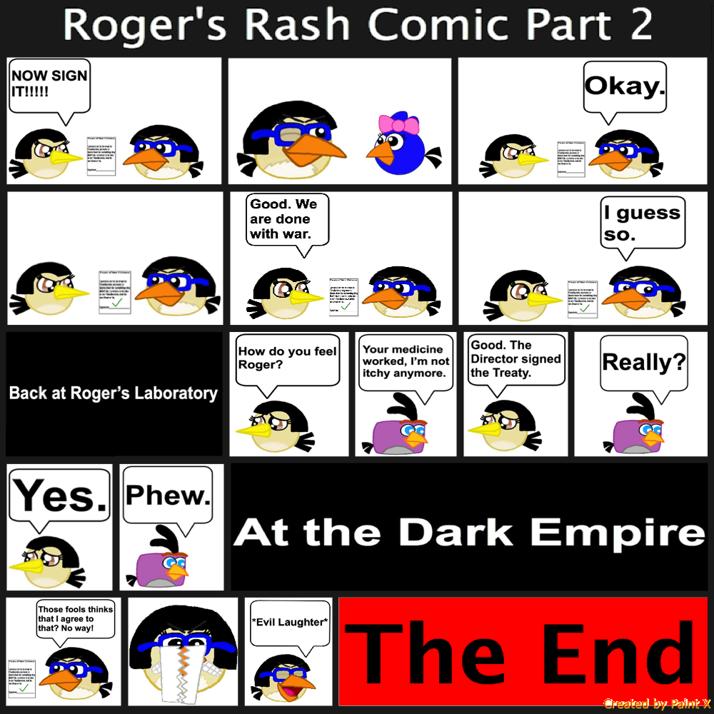 Roger's Rash Comic Part 2 by Mario1998