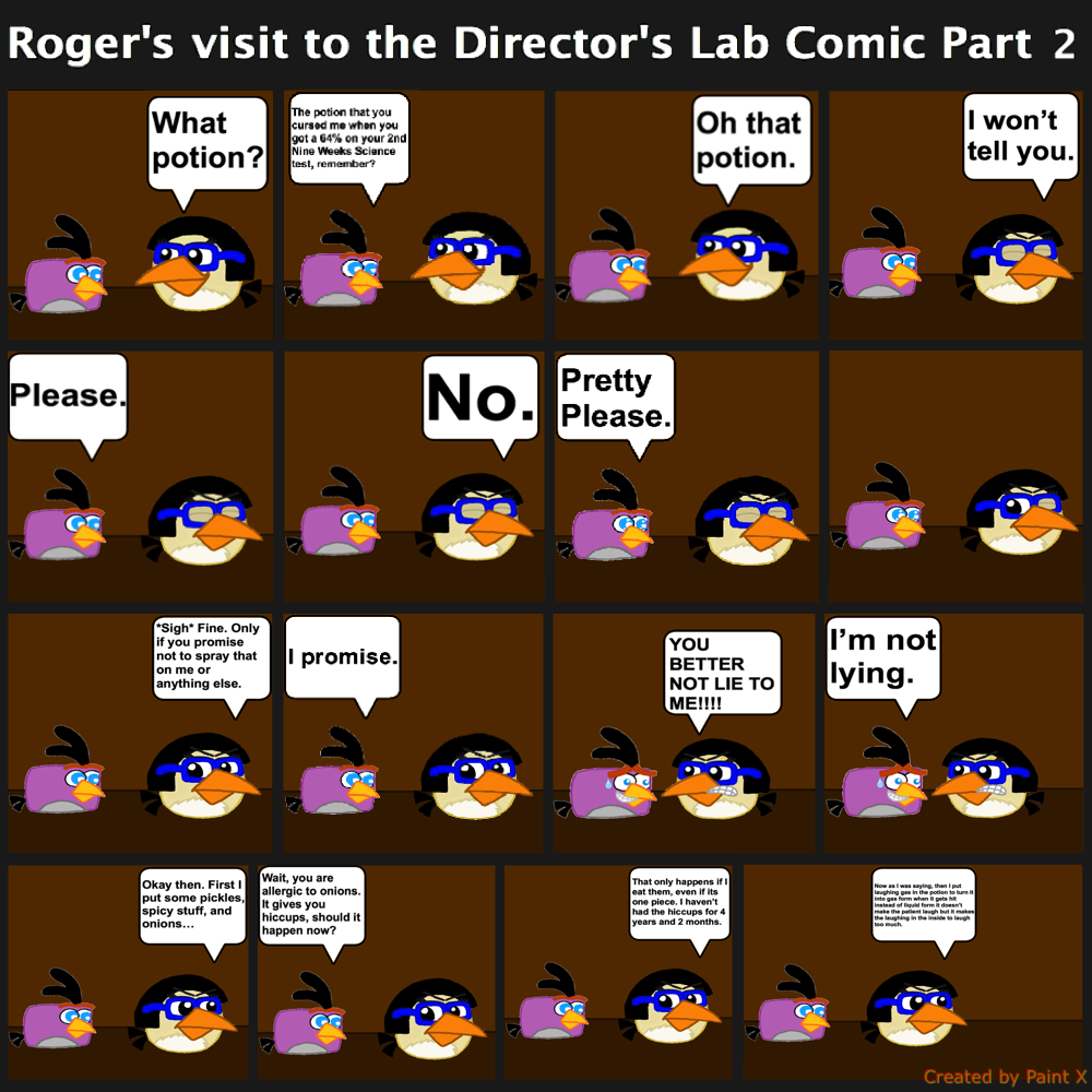Roger's visit to the Director's Lab Comic Part 2 by Mario1998