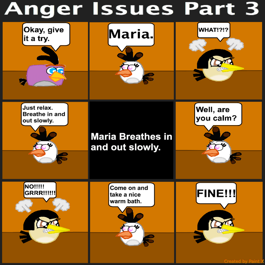 Anger Issues Comic Part 3 by Mario1998