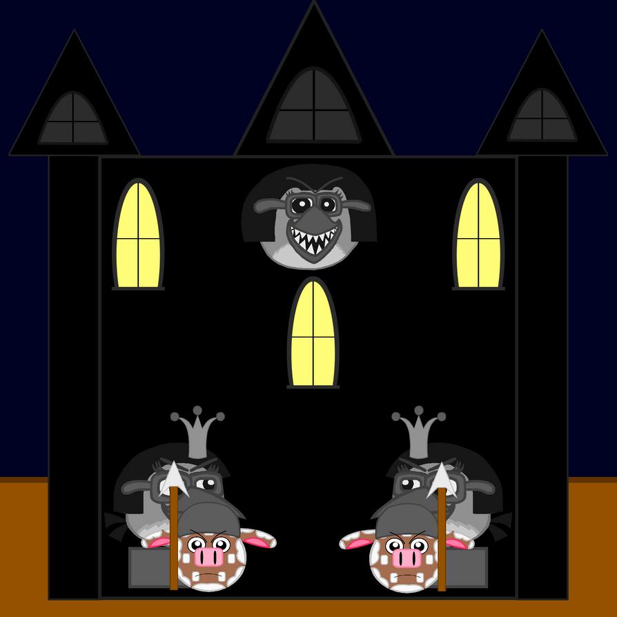 Dark Empire Castle Front without Door by Mario1998
