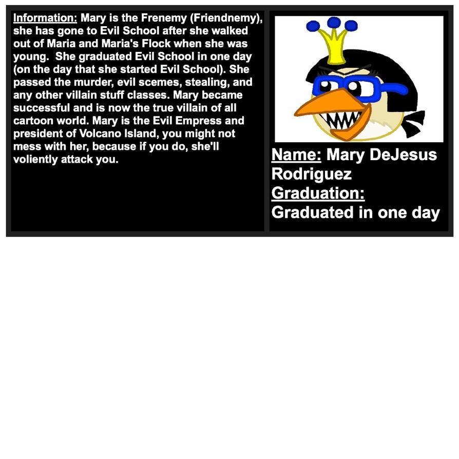 Mary's True Villain License by Mario1998
