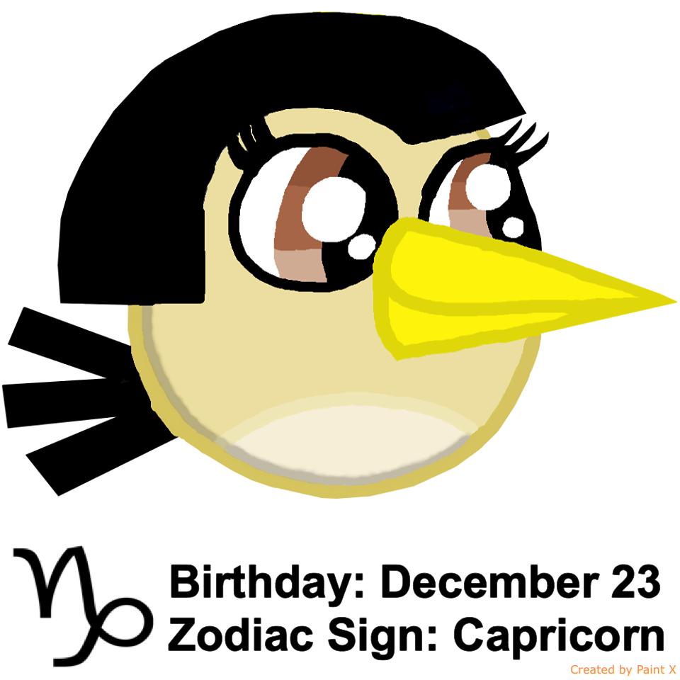 Maria's Zodiac Sign: Capricorn by Mario1998