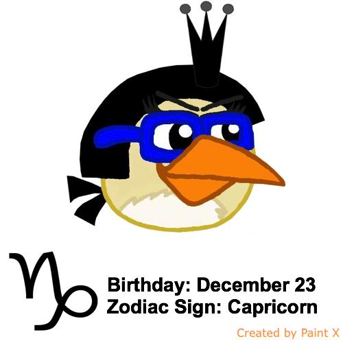 Mary's Zodiac Sign: Capricorn by Mario1998