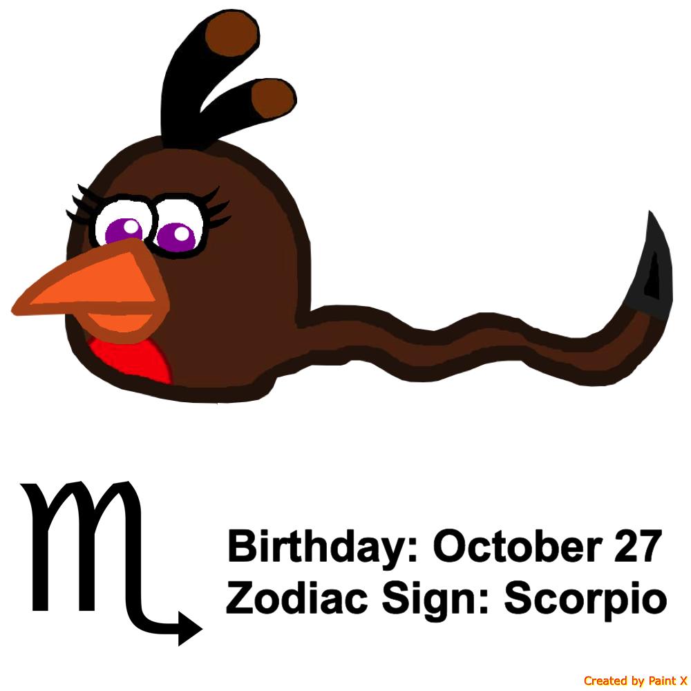 Emma's Zodiac Sign: Scorpio by Mario1998