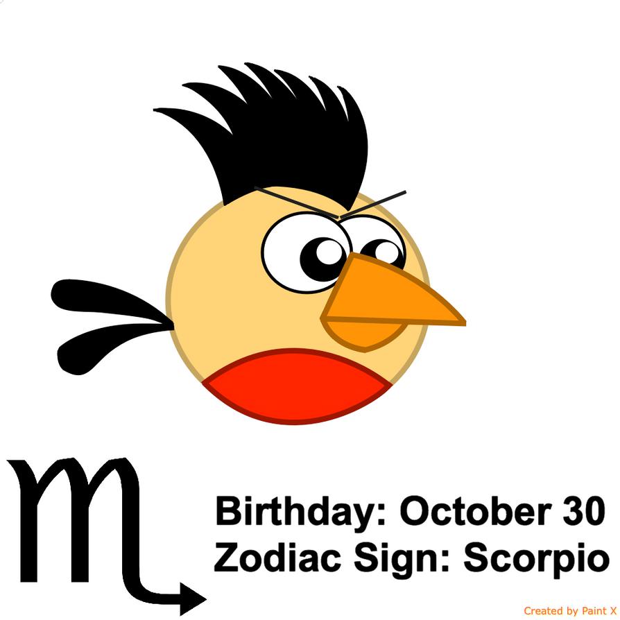 Emperor Mark's Zodiac Sign: Scorpio by Mario1998