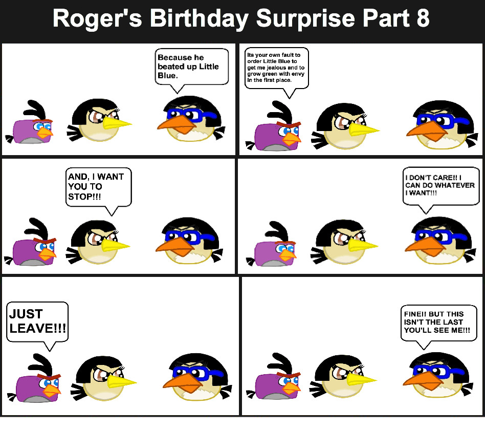 Roger's Birthday Surprise Comic Page 8 by Mario1998