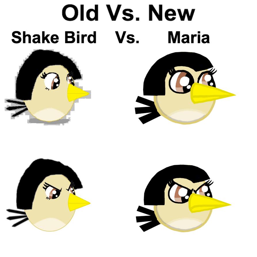 Old Vs. New, Shake Bird Vs. Maria by Mario1998