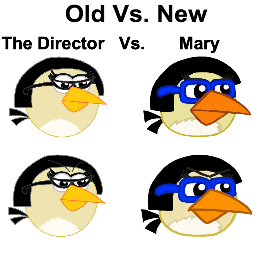 Old Vs. New, The Director Vs. Mary by Mario1998