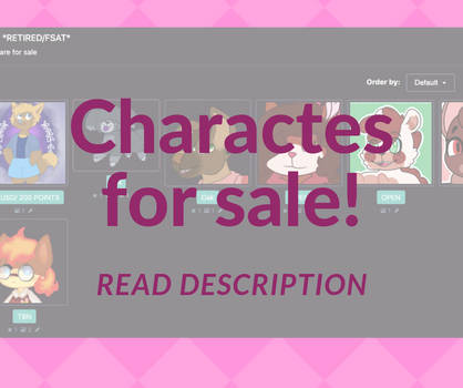 Characters UFST!