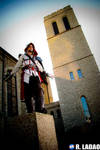 Ezio costume: Perched