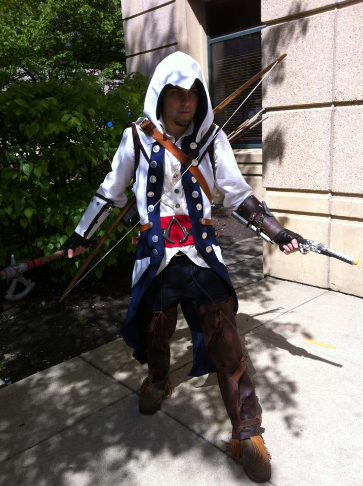Assassin S Creed 3 Connor By Sound Resonance On Deviantart