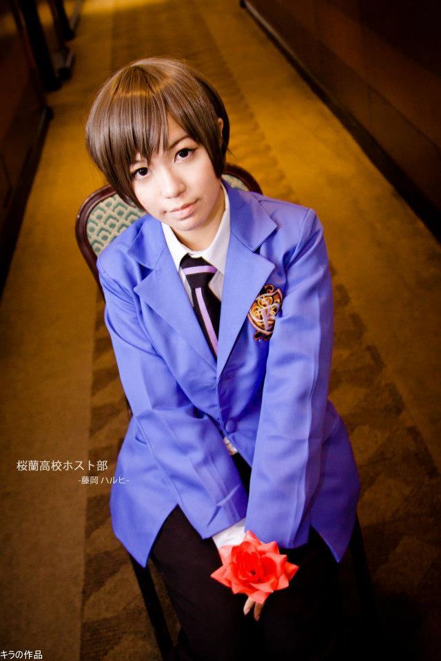 Ouran HighSchool Host Club - Haruhi Fujioka by YukiChristy ... Ouran Highschool Host Club Cosplay Haruhi