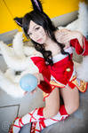 League of Legends - Ahri by YukiChristy