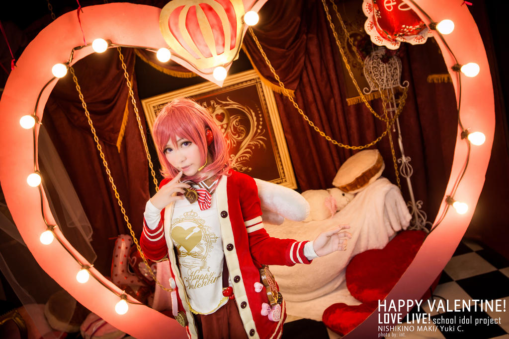 Maki Nishikino Valentine - 01 by YukiChristy