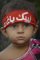 Little Girl - Support Gaza Muslims by zeshanadeel