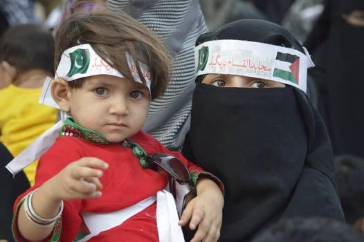 Little Angel Protest Israel