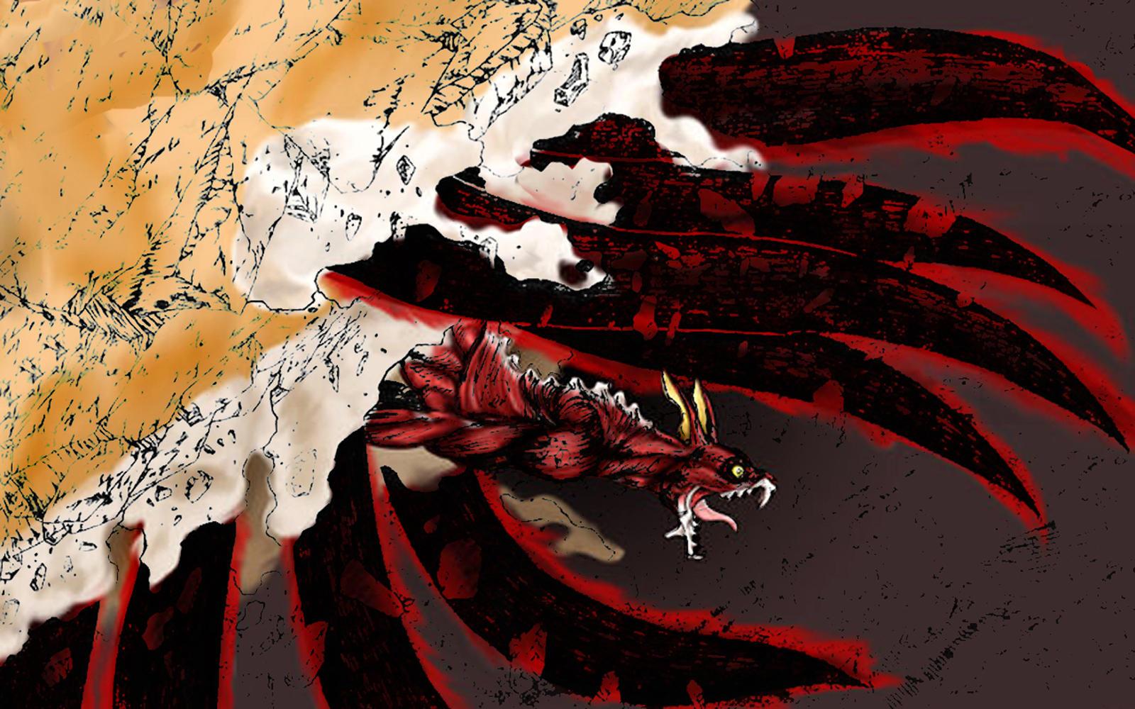 Naruto 8 tails by Heidelmeier17 on DeviantArt