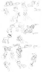 Ponies by DIchigo