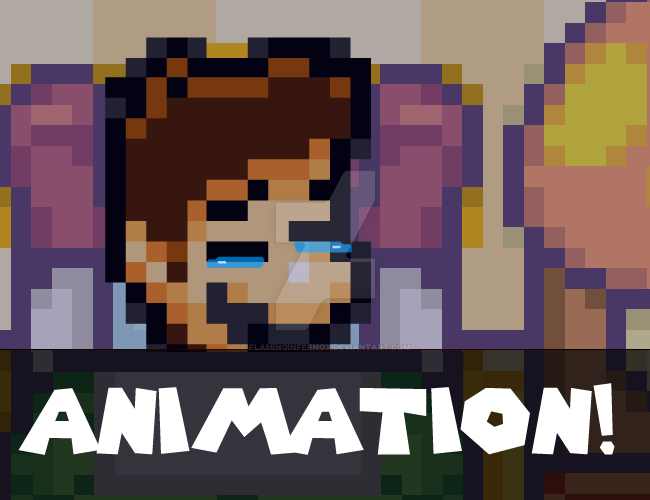 Animation: SMB: The Legendary Warrior Scene by FlamingInfernoX