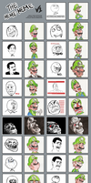 The many faces of Luigi