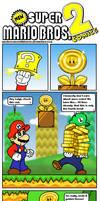 NSMB 2 Comics: The Golden Flower