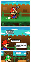 Paper Mario SS Comics: The Luigi Encounter by Kopejo
