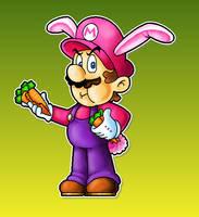 Rabbit Mario by Kopejo
