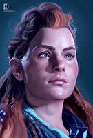 Horizon Zero dawn - Aloy by krassmoss