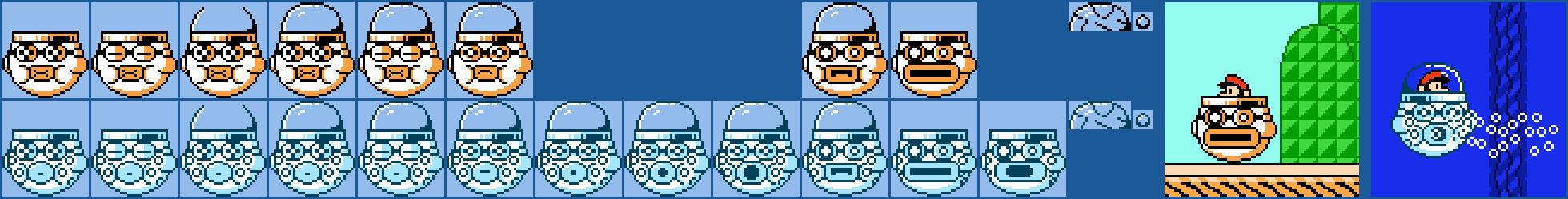 Koopa Clown Submarine and Koopa Sub Bubbler